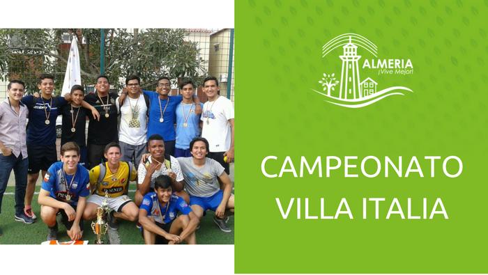 Campeonato Villa Italia 2017