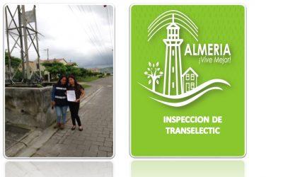 GESTION DE PARTE ADMINISTRACION PARA IMPECCION DE TORRE ELECTRICA