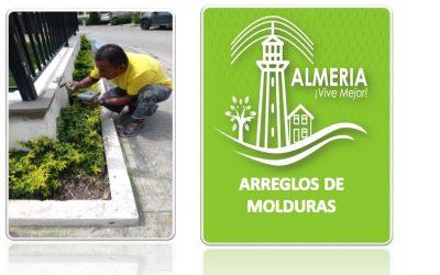 ARREGLOS DE MOLDURAS DEL AREA SOCIAL