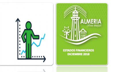 ESTADOS FINANCIERO DICIEMBRE 2018
